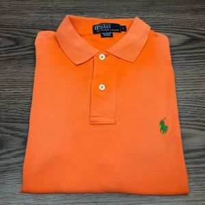 Polo Ralph Lauren Orange Polo Shirt S